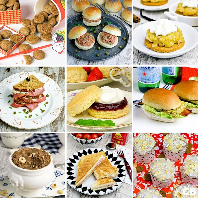 Recepten Herfst-high tea: alle recepten voor een supergezellige middag samen!