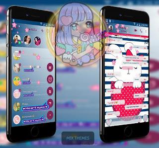 Rabbit Cute Theme For YOWhatsApp & Fouad WhatsApp By Ale