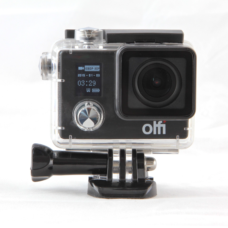 review olfi 4k action cam the test pit. Black Bedroom Furniture Sets. Home Design Ideas
