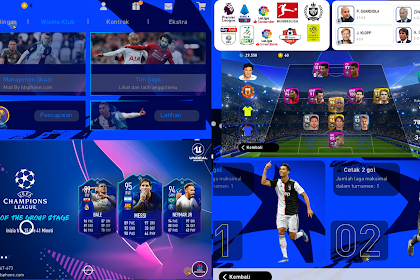 PATCH PES 2020 MOBILE UCL | IDSPHONE PATCH V4.6.0 OBB+CPK