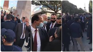 (بالفيديو) عاجل / رئيس الجمهورية قيس سعيد في شارع الحبيب بورقيبة لسماع اقتراحات و مشاكل المواطنين