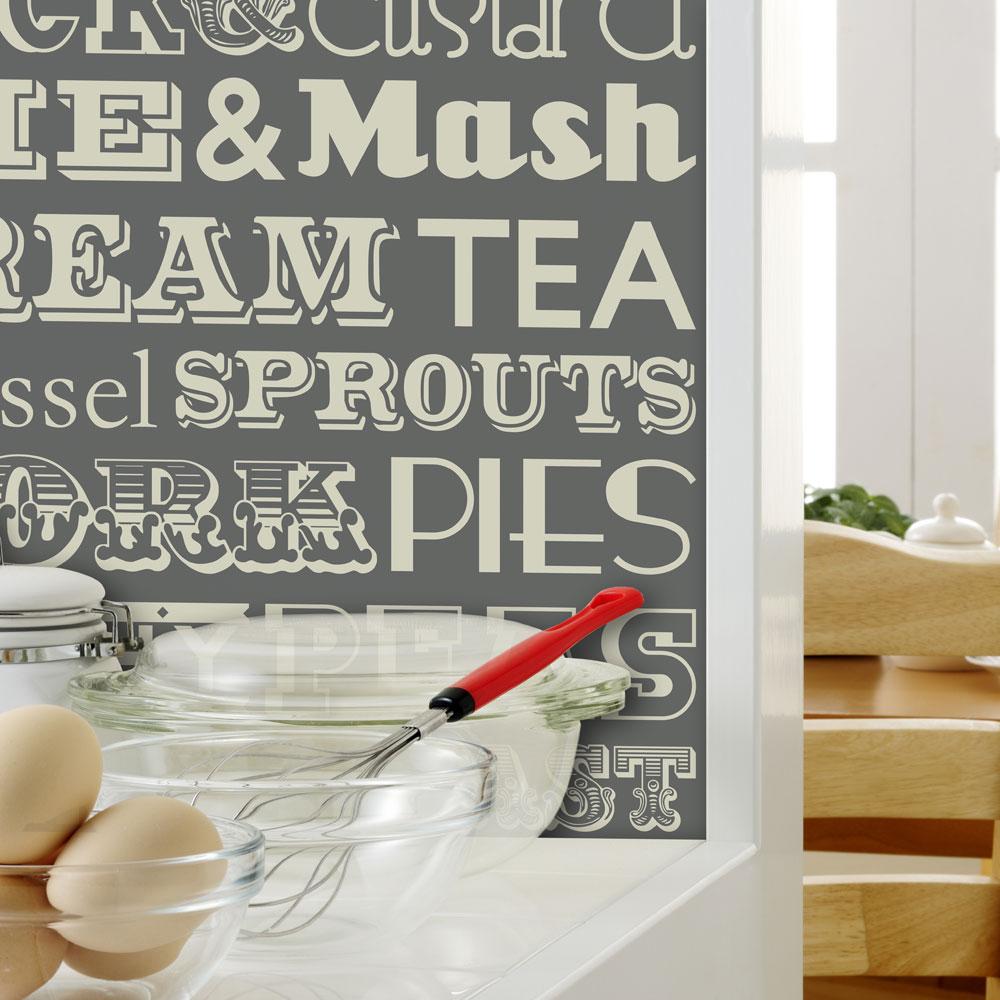 Papel De Parede Na Cozinha Sim Poss Vel Blog De Decora O  -> Papel De Parede Para Sala Lavavel