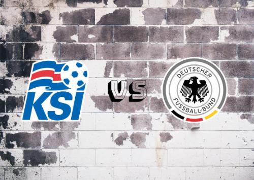 Islandia vs Alemania  Resumen y Partido Completo