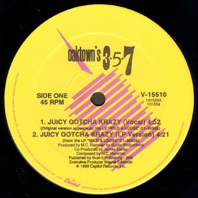 Oaktown's 3-5-7 – Juicy Gotcha Krazy (1989) (VLS) (FLAC + 320 kbps)