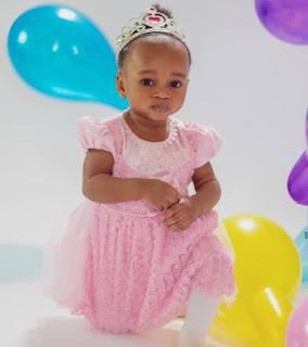Actress Ruth Kadiri-Ezerika Shares New Photos Of Her Daughter, Reign As She Turns 1-Year-Old