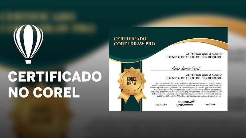 1084 certificados em CorelDraw Download Grátis