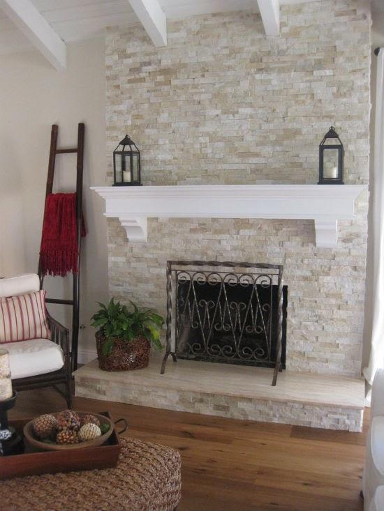 lealou: Main floor update: fireplace ideas