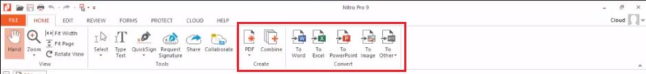 convert pdf to word nitro download