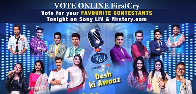 firstcry vote indian idol