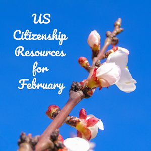 Citizenship Resources for February