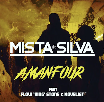 "UK Based Ghanaian Artiste, Mista Silva Drops Ghana-Drill Track Dubbed ""Amanfour"" featuring Flow King Stone & Novelist (Official Music Video + Stream Links)"