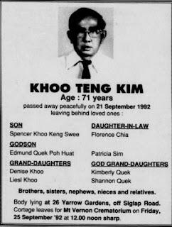 Khoo Teng Kim