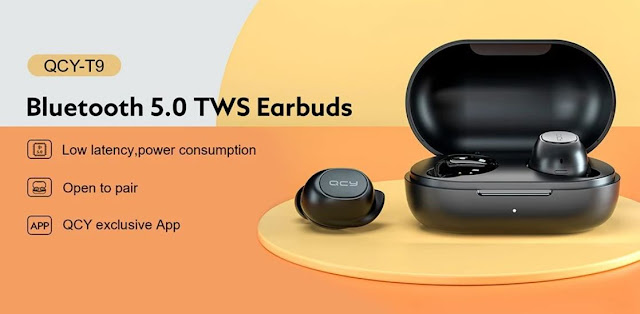 QCY T9 - Tens que conhecer estes Earbuds