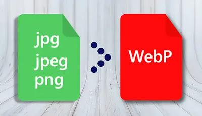 Convert JPG dan PNG ke WebP