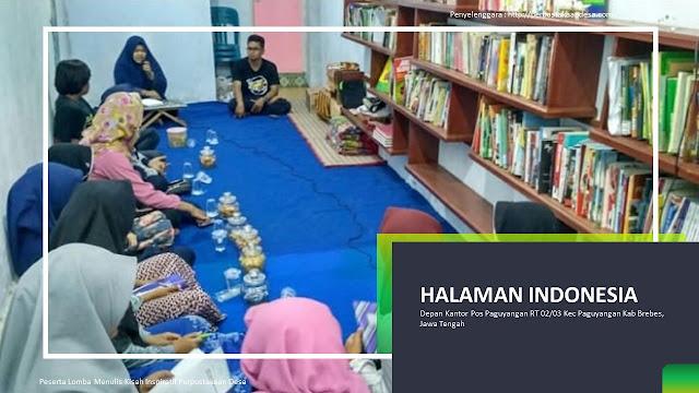 Halaman Indonesia  Dari Desa Untuk Bangsa
