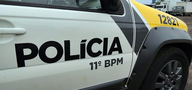 Campina da Lagoa: Jovem desacata policiais e é preso