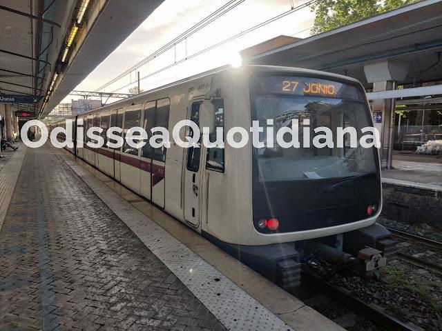 Il crollo del servizio delle Metro a Roma