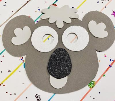 Máscara de koala 🐨