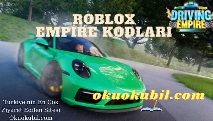 Roblox Güncel Driving Empire Kodları İndir 2021