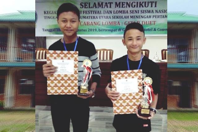 SMP Swasta Bintang Laut Nisel Juara 3 Lomba FLS2N Tingkat Provinsi Sumut