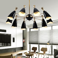 Pendant lamps with gold brass for modern lighting design ideas