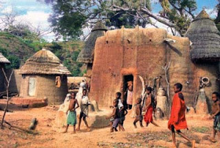 African Earth houses
