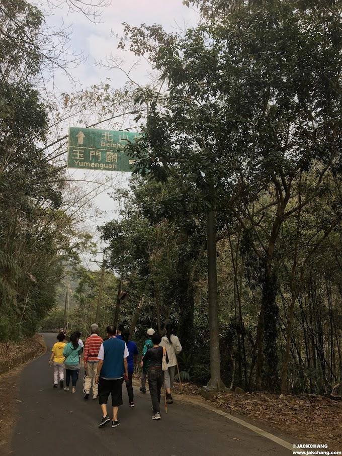 Nantou Guoxing Township-Yumenguan, waterfalls and creeks are the symbol of summer