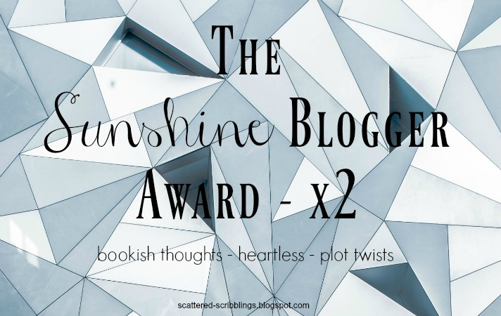 The Sunshine Blogger Award Tag (x2) - Header Image