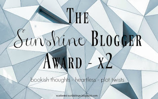 http://scattered-scribblings.blogspot.com/2017/04/the-sunshine-blogger-award-x2.html