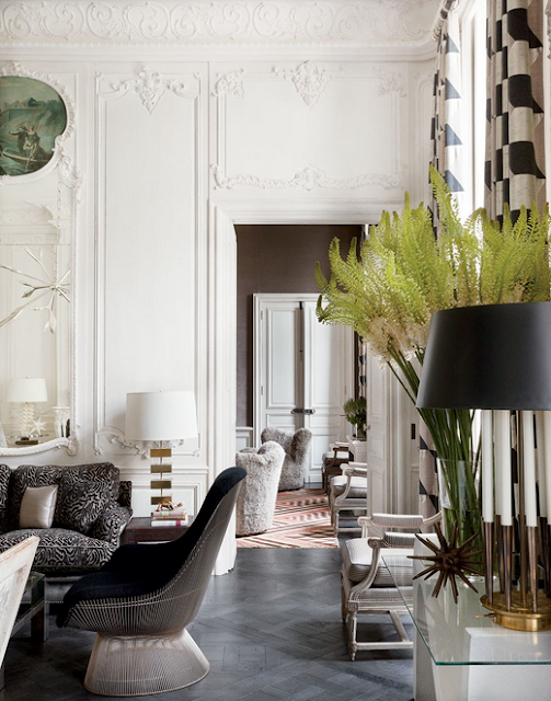 Lauren Santo Domingo paris apartment designed by Francois Catroux