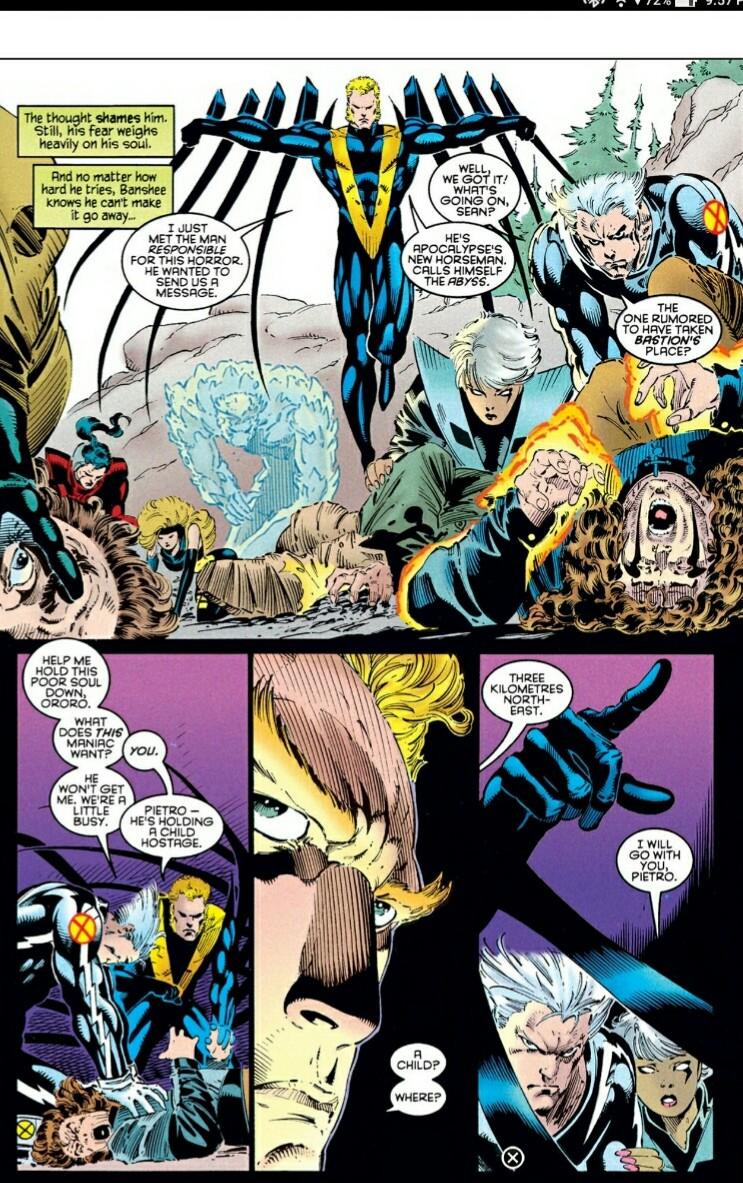 THE B.I.B.: Amazing X-men 2 (Age of Apocalypse part 12)
