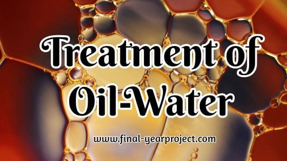 Treatment of Oil-Water Emulsion by Adsorption onto Activated Carbon