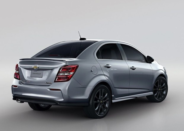 novo chevrolet sonic 2017 em seu novo visual autos novos. Black Bedroom Furniture Sets. Home Design Ideas