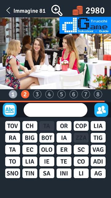 8 Parole Smontate soluzione livello 81-90