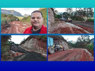 Recuperação de estrada em Ibicoara