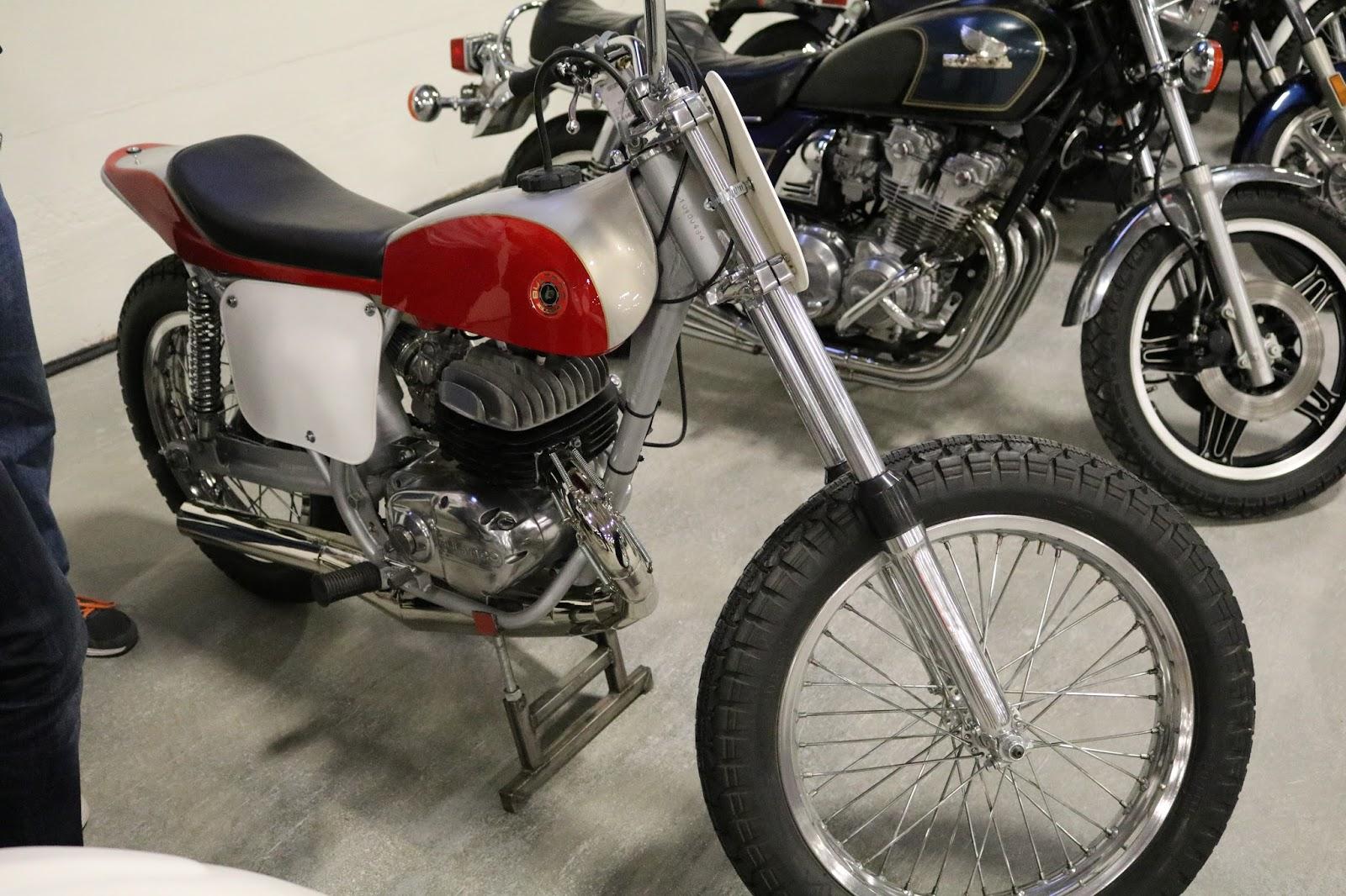 Barber Motorsports Museum >> OldMotoDude: 1974 Bultaco Pursang Flat Tracker sold for ...