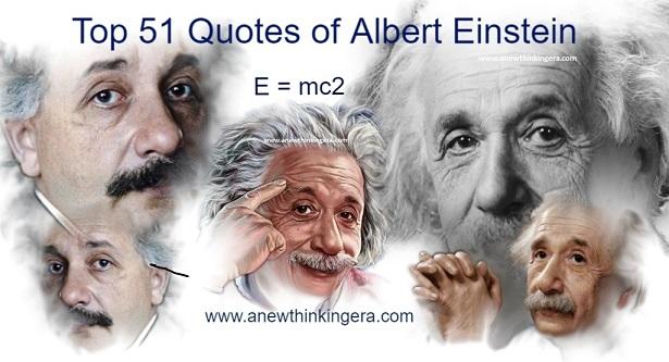 Famous Inspiring Quotes of Albert Einstein