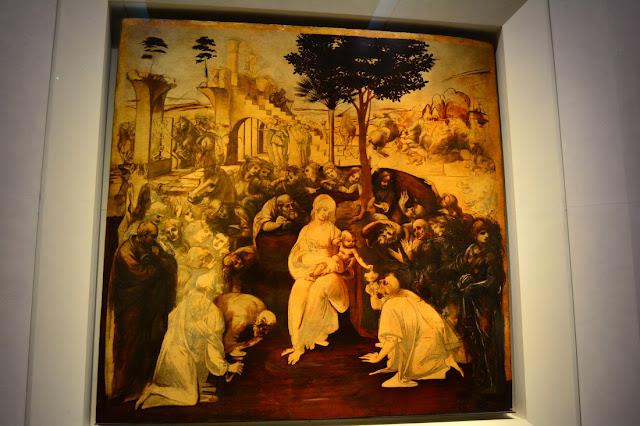 Léonard de Vinci - Adoration des mages - 1481