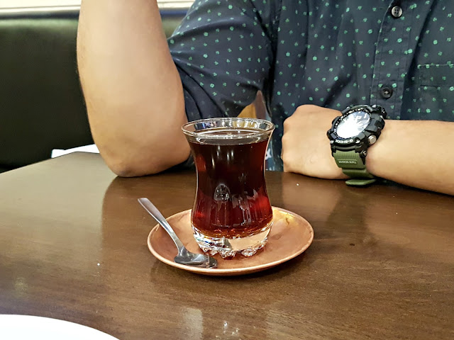 Turkish Tea - Kosebasi - Turkish Anatolian Grill at the Grand Avenues, Kuwait