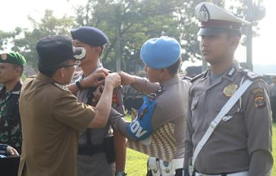 Polres Lampung Timur Siagakan 629 Personil Gabungan Dalam Operasi Ketupat Krakatau 2018