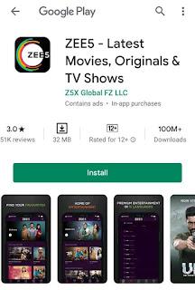 ZEE5 - Latest Movies, Originals & TV Shows v17.0.0.6 [Premium Mod]