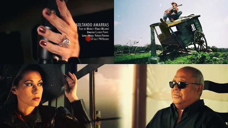 Tesis de Menta & Pablo Milanés - ¨Soltando amarras¨ - Videoclip - Dirección: Claudio Pairot. Portal Del Vídeo Clip Cubano
