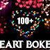 100+ Heart bokeh png & background download