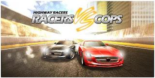Game balap Racers Vs Cops Multiplayer