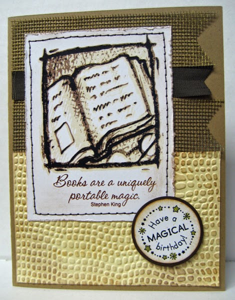 Birthday Card For A Book Lover