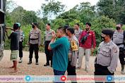 Sisir Desa Lubuk Napal, Polres Sarolangun Amankan 1,5 Ton Lebih Minyak Ilegal