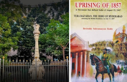 Revolutionary freedom fighter Turrrebaz Khan and the soldiers who led attack on British Residency: Independence Movement s Martyrs in Hyderabad