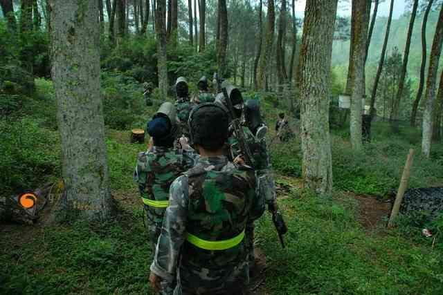 Paintball Cikole Bandung Gravity Adventure