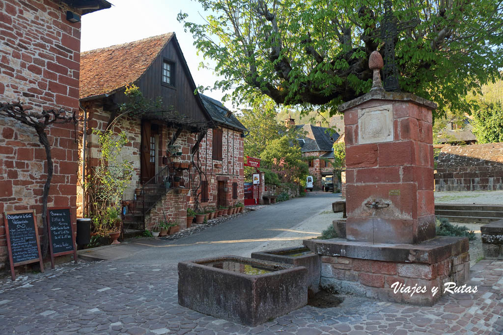Fuente de Collonges la Rouge