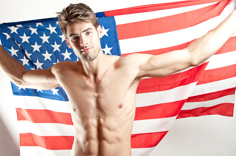 sexy-chad-white-male-model-photos-usa-flag-4th-july